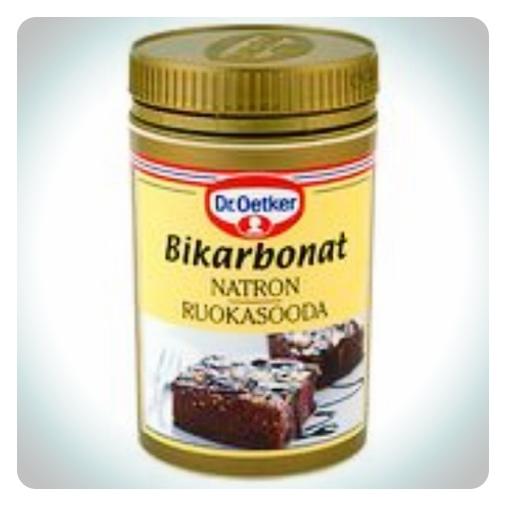 bikarbonat mot svett